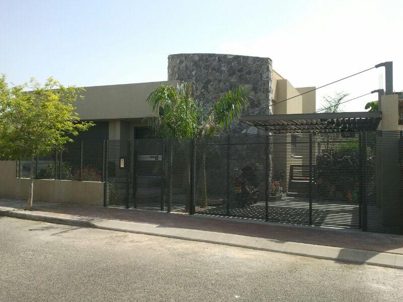 גדרות אלומיניום לבית פרטי
