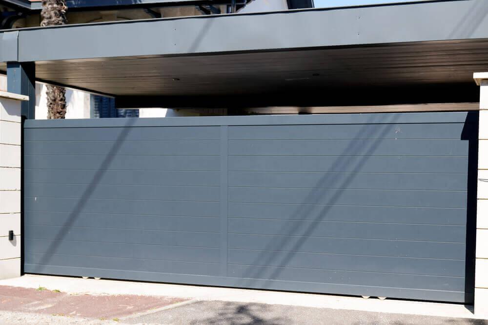 שערים לחניה מאלומיניום